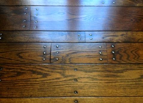 Refinish Face Nailed Wood Floors Using Passive Refinishing