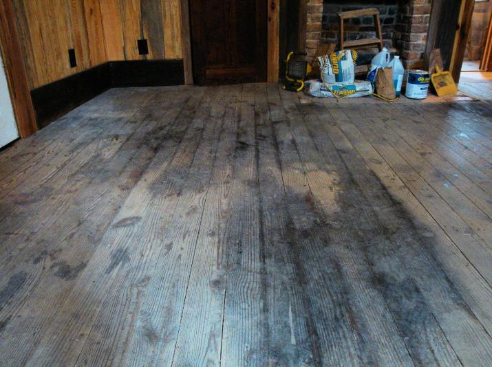 Restoring 100 Year Old Hardwood Floors In East Georgia