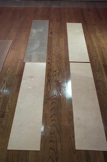 Masonite Tracking on Refinished Hardwood Floors