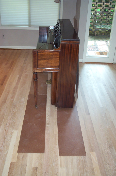 Wood Floor Finishing Faq Will I Be Able To Stay In My House
