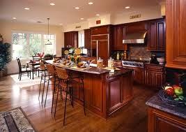 Wood Floor Kitchen Image