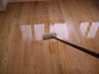 Lying Water Based Polyurethane On Hardwood Floors Polyurethanefinish Image Finish