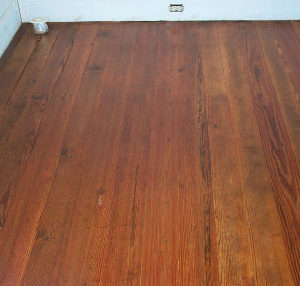 The True Character Of These Aged And Worn Floors Tells Its Story Anew Thanks To Homeowners With A Passion And A Mission.