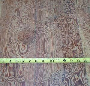 Beautiful Burled Pine Flooring.