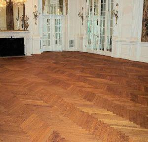 Finished Ballroom Floor.