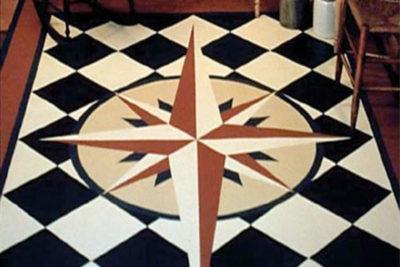 Floorcloths: Rich History, Design & Color