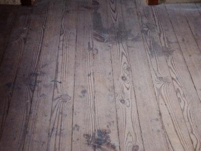 Waging War To Save Worn Wood Floors